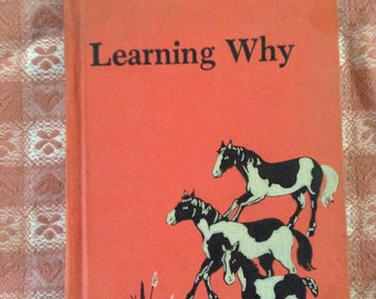 Learning Why - vintage science reader