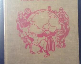 Around the world with the children -antique children's book