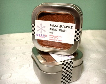 Mexican Mole Meat Rub