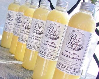 Shampoo - Nourishing Citrus Fusion Shampoo (vegan)