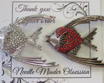 Fish Needle Minder  **Red Sold Out**