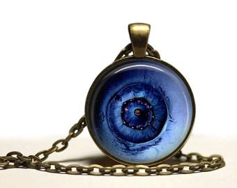 Berry necklace Fruit jewelry Blueberry pendant