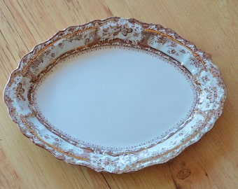 Vintage Wedgewood Serving Platter in Phoebe Green