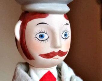 French Doll  - Rare  & Unique Vintage