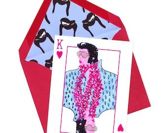 King of Hearts Single Card Set