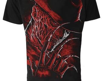 FREDDY KRUEGER T Shirt  Never Sleep Again GOTH Horror