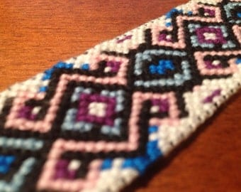 Hand-knotted bookmark