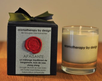 Handpoured luxury Soy wax Aromatherapy candle 150g/30h