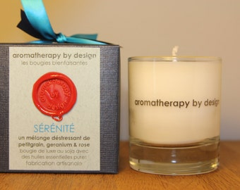 Handmade Luxury Soy Wax Aromatherapy Candle 150g/30h