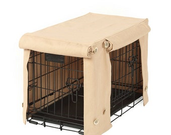 Washable Crate Covers - Sand