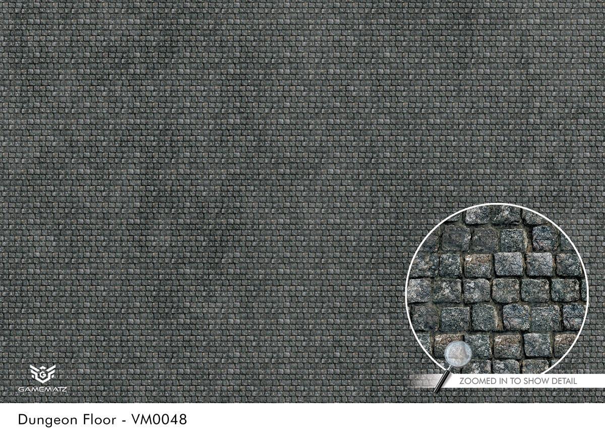 Dungeon Floor Vinyl Tabletop War Gaming Mat Vm0048