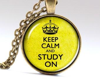 Study Necklace, Knowledge Jewelry, Student Jewelry, Necklaces Pendants Jewellery   LG525