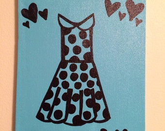 You're Pretty Dress Painting