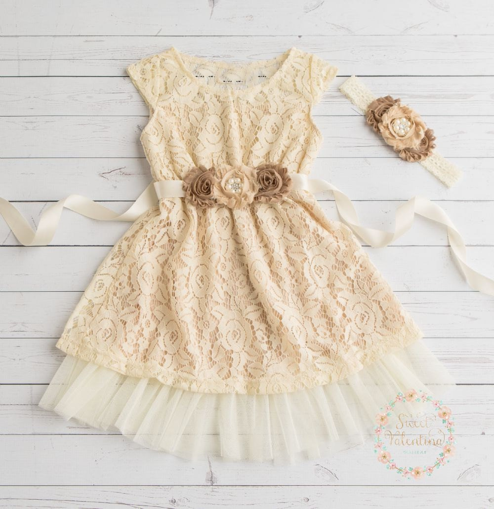 Find great deals on eBay for cream flower girl dress. Shop with confidence.