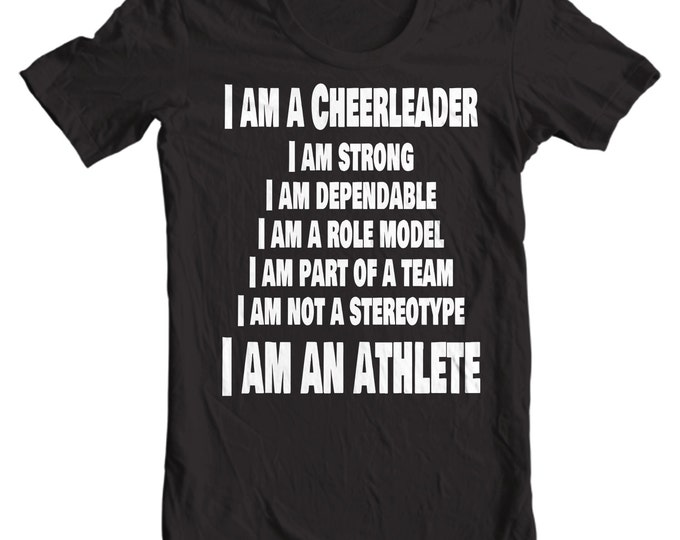Cheer Life - I Am A Cheerleader Poem Womens T-Shirt