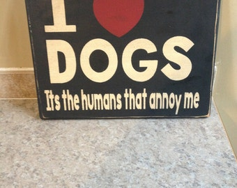 Just love those dogs, people not so much, made in Canada, canadian shop
