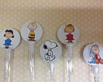 Peanuts, Charlie Brown, Snoopy Party Bubbles