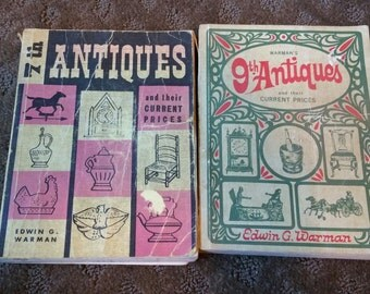 Edwin Warman 9th&7th Antiques Price Guide Books