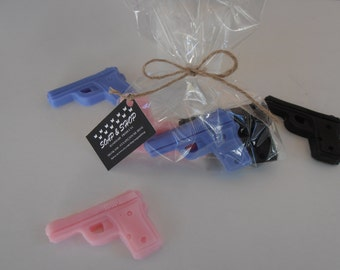 Soap guns!!glycerin soap-package of 3