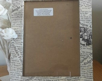 Harry Potter Upcycled Picture Frame - Witches and Wizards - Literary Gifts - Children's Books