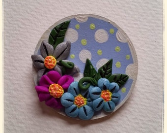 Flowers,lovely flowers brooch.
