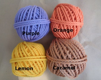 40meters of 6mm Twisted Cotton Rope (7-8mm width)