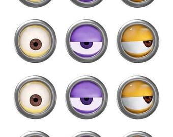 minion minion movie minion goggles instant download