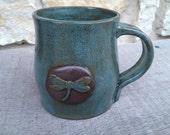 Dragonfly Pottery Handcrafted Mug