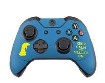 "XboxOne Custom Un-Modded Controller ""Exclusive Design - Keep Calm - Mullet"""