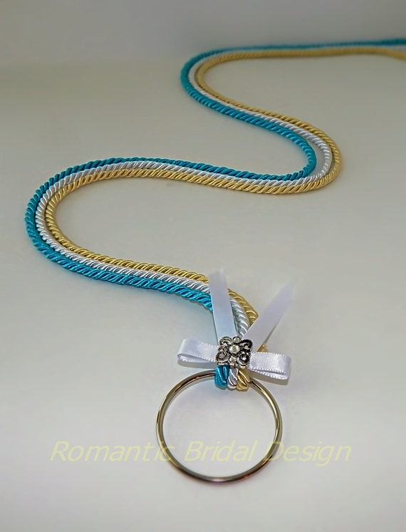 Cord of three strands unity knot unity braid wedding braid cord