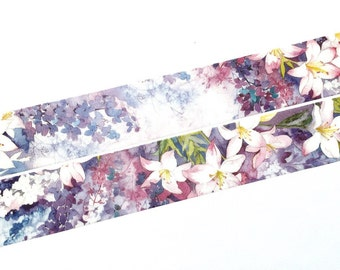 Lily washi tape (T0097)