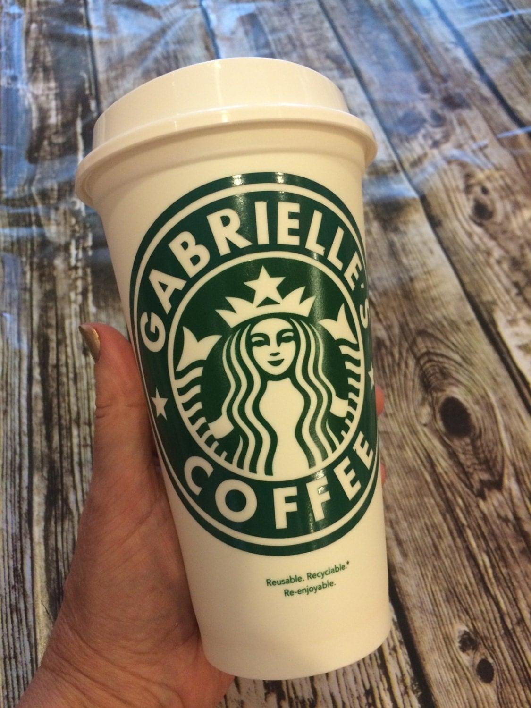 Travel coffee tumbler personalized starbucks cup travel for Starbucks personalized tumbler template