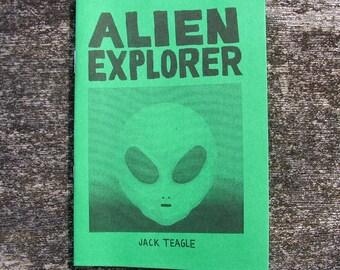 Alien Explorer - A6 comic