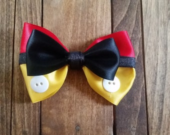 Mickey Mouse Inspired Bow