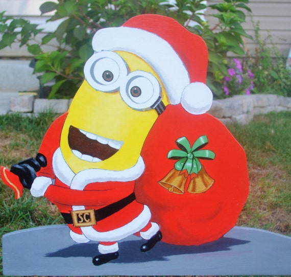 Sant Clause minion is ready to go. Christmas is comming fast