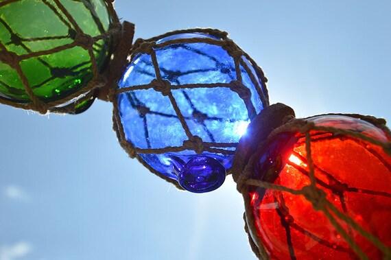 Rare vintage glass floats beach décor decorative