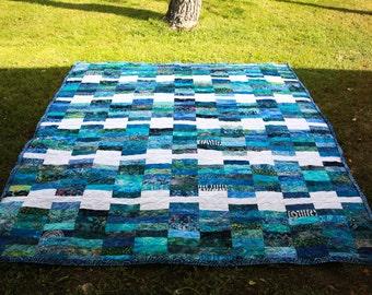 Batik Queen size quilt