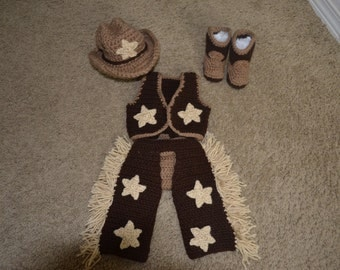 Cowboy or Cowgirl Up!! Infant Cowboy Outfit!