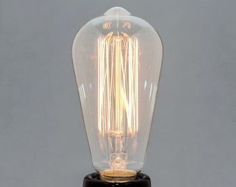 WILLIAM | Edison-style retro light bulb | 60W | E27