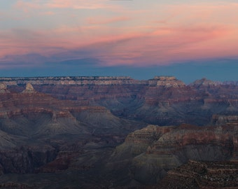 Landscape Fine Art Photo: Sunset at the Grand Canyon, A Grand View