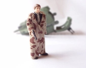 Star Wars Action Figure HAN SOLO (In Trench Coat) 1984 FLF