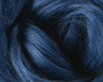 One Ounce Ramie for Felting or Spinning Color Evening