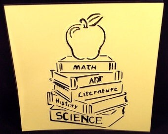 Back to School Stencil