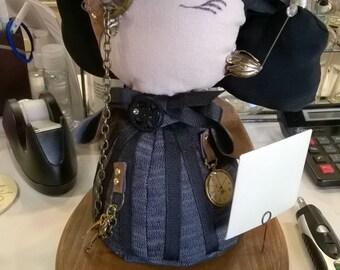 Steampunk Doll Minerva Dupine, Detective