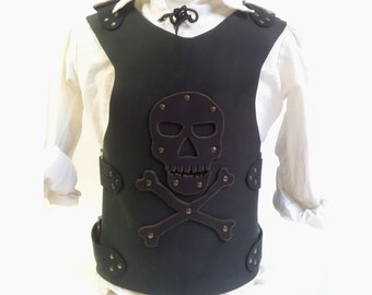 Pirate leather armor, for child