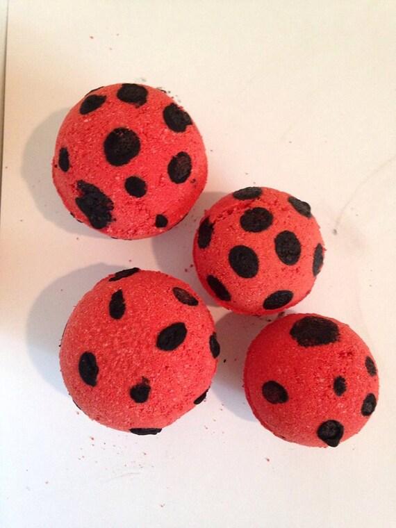 Lady Bug Bath Bomb By Carebarescreations93 On Etsy