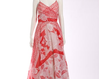 1950s Fred Perlberg Originals Evening Gown