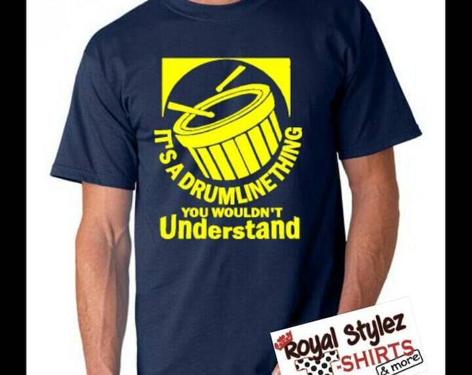 Custom Drum Line Shirt