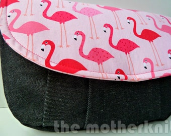 Flamingo clutch bag, Mother's Day gift