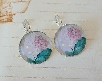 Hortensia earrings